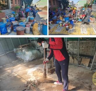 주거환경 개선활동 - 기아조나반봉사단(비아동)