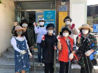 힐링콘서트, 물드림봉사단 - 줍깅 및 염색봉사활동